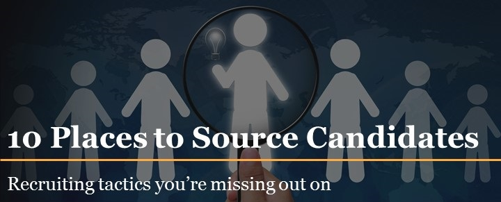 10 places to source candidates