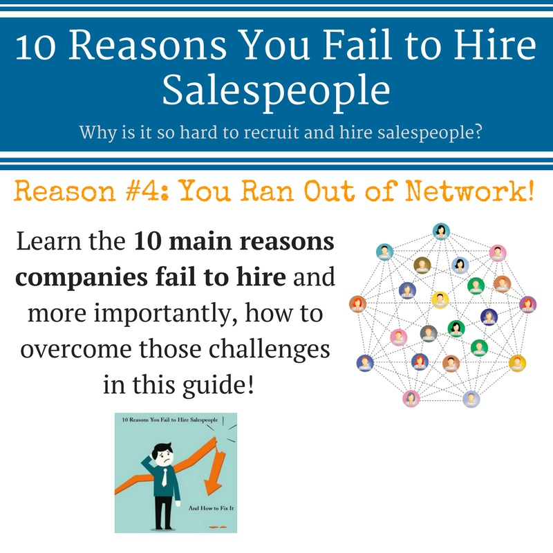 10 reasons you fail to hire salespeople - Treeline Sales Recruiters