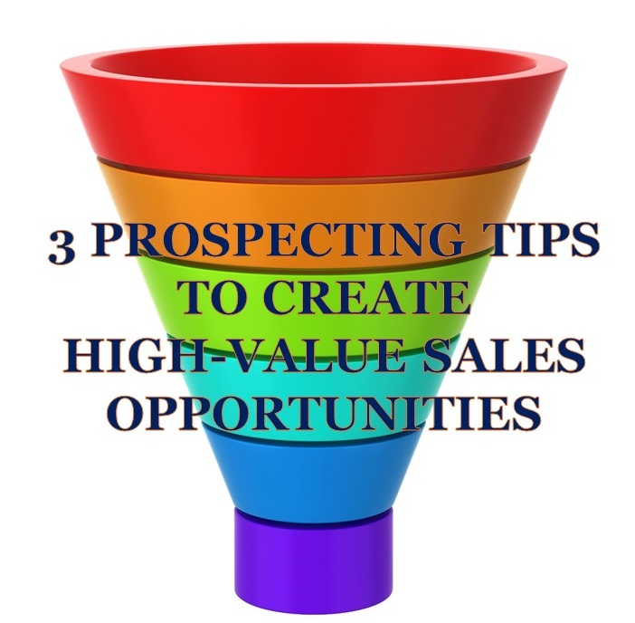 3 sales prospecting tips