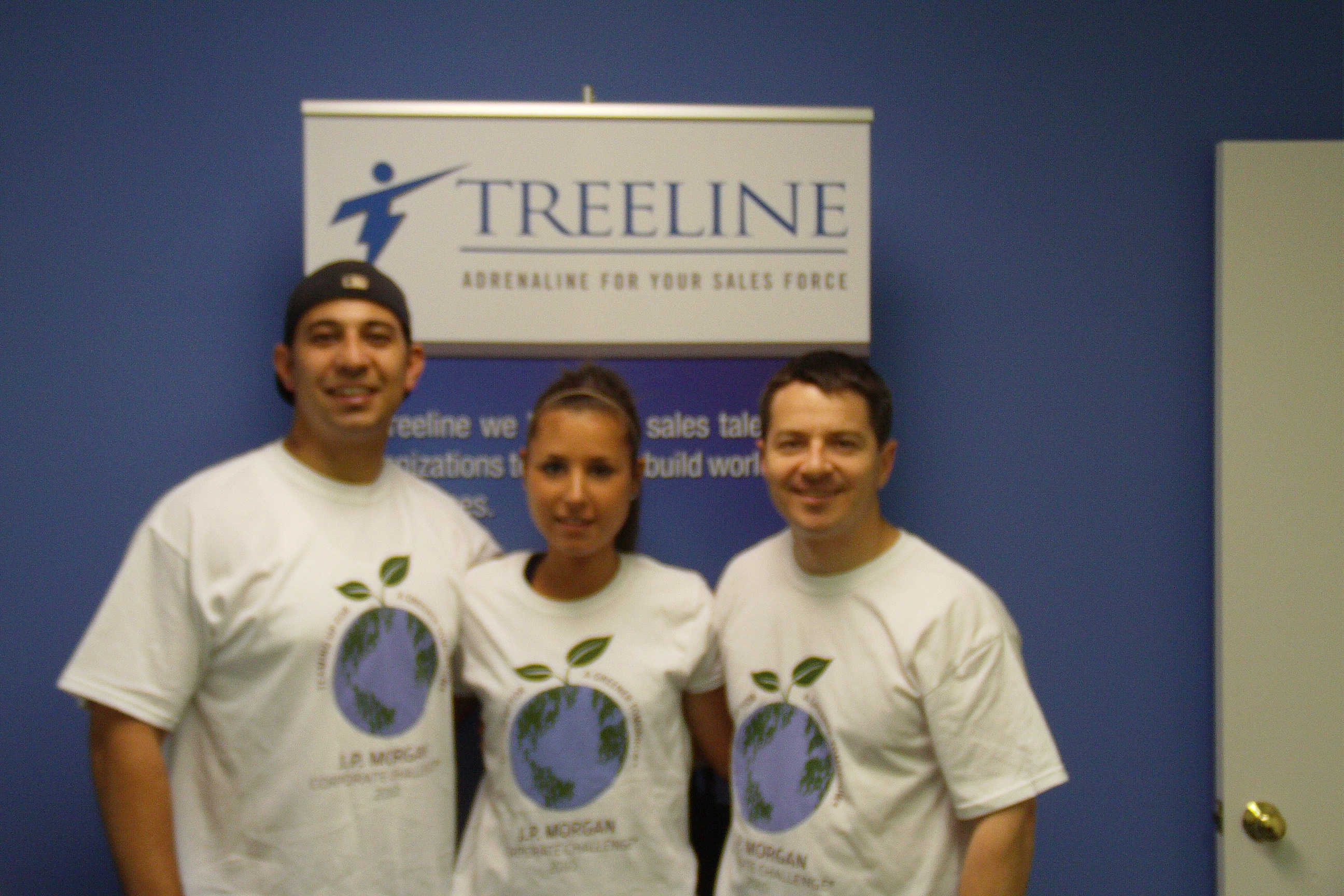 Treeline Inc. runs the JP Morgan Corporate Challenge Race
