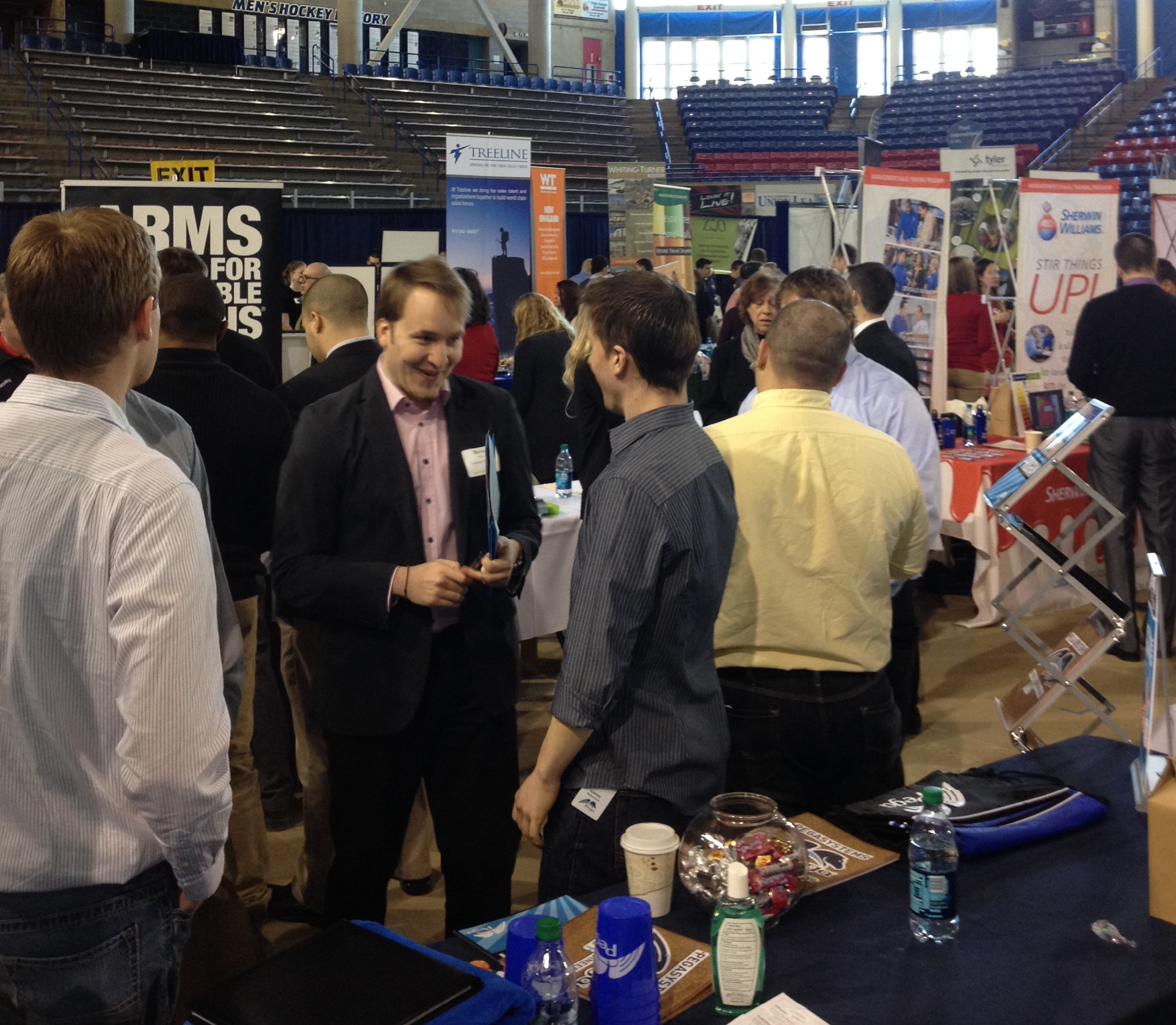 UNH College Career Fair-how to land a job after graduation