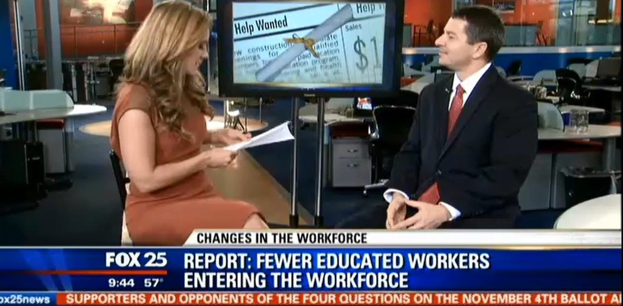 Dan Fantasia on Fox 25 News talks about changes in the job market for college graduates
