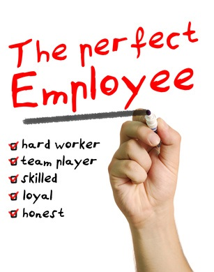 The perfect employee does not exist on a check list