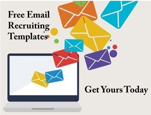 Use these free email recruiting templates to help you hire salesepeople,
