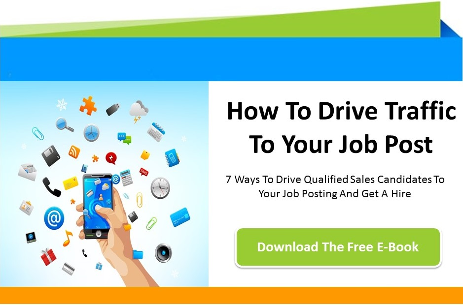 Use this free guide to write and post sales jobs that drive traffic