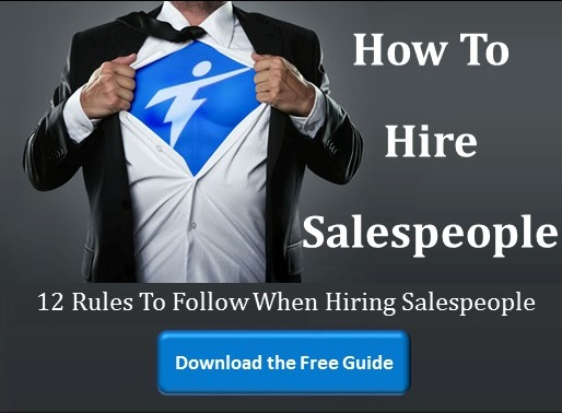 how to hire sales people and inside sales managers