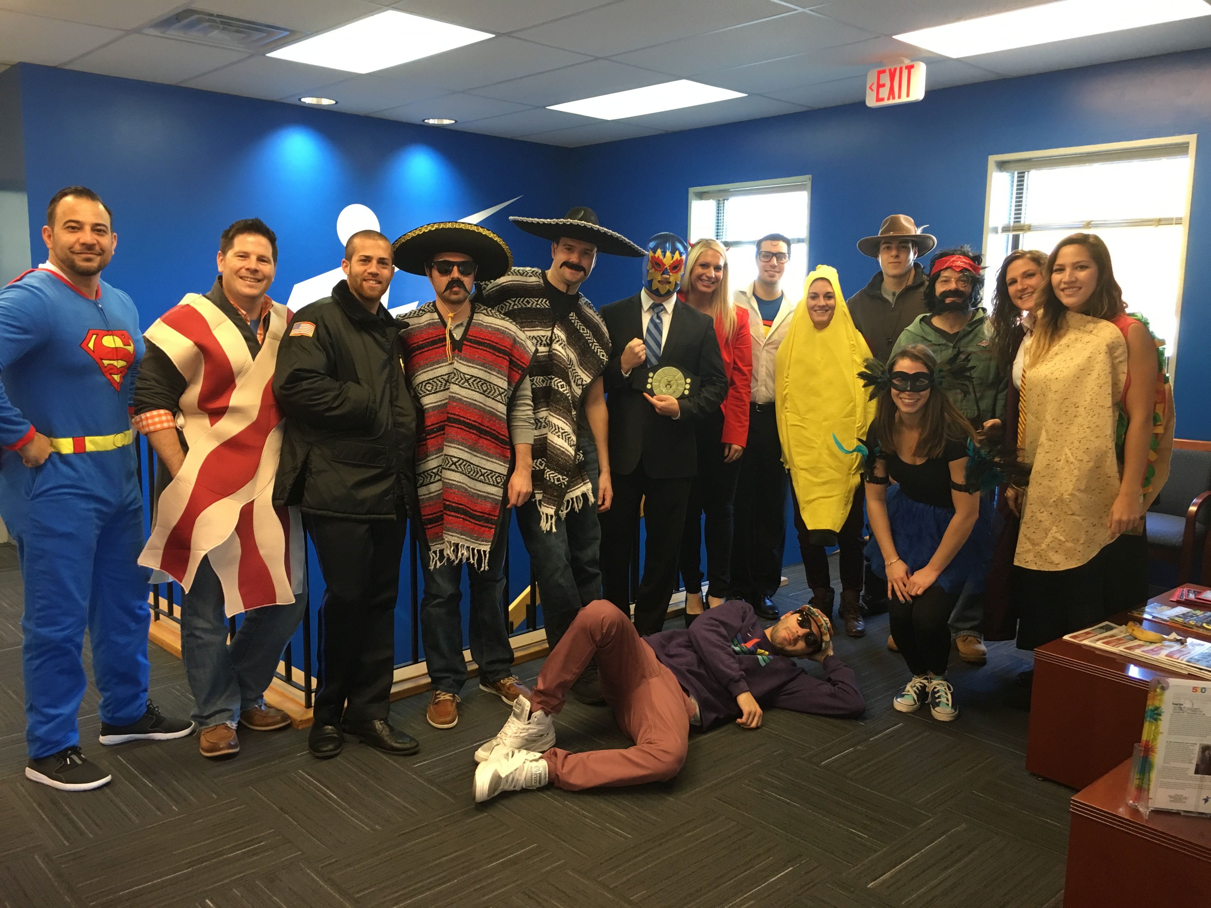 Treeline, Inc. showing some Halloween spirit at a meeting
