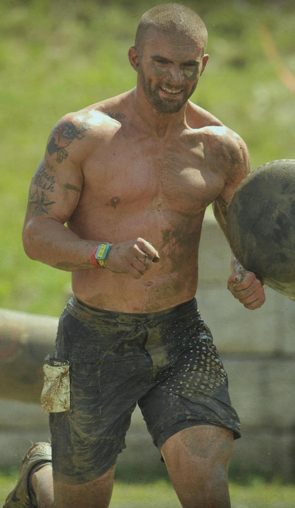 Mike McGee doing some Spartan Race Training