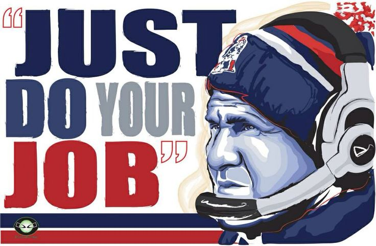 Do Your Job Patriots saying