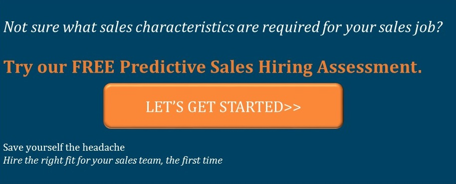 Predictive Sales Hiring Assessment -Treeline Inc Sales Recruiters
