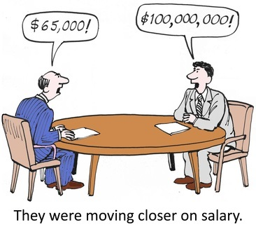 how to negotiate a salary in the job offer stage