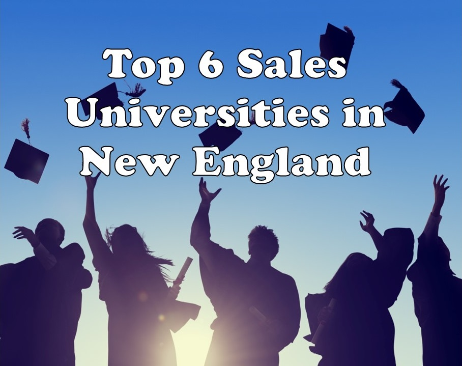Top 6 sales universities in New England