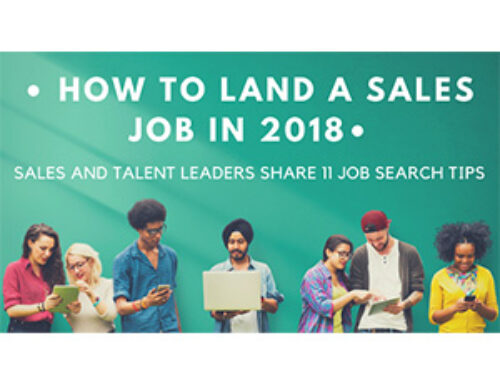 How to Land a Sales Job in 2018