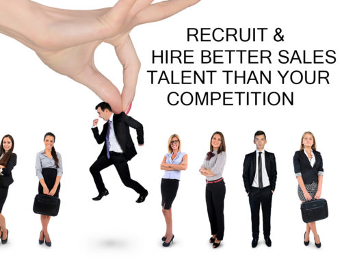 Recruit & Hire Better Sales Talent Than Your Competition