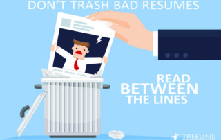Don't Trash Bad Resumes Right Away Blog Image