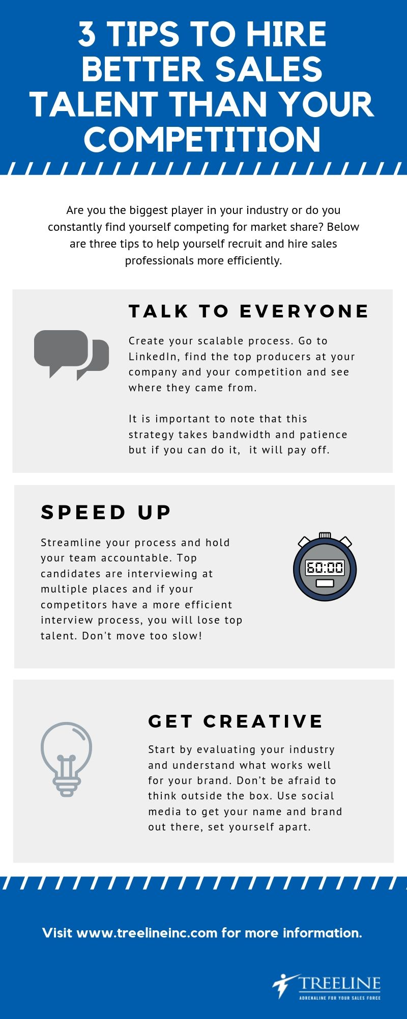 3 Tips to Hire Better than your competition Infographic