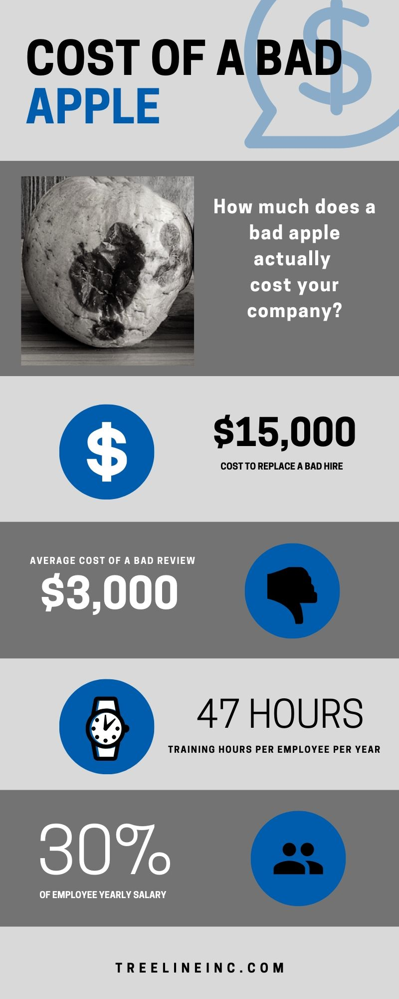 Cost of a Bad Hire Infographic