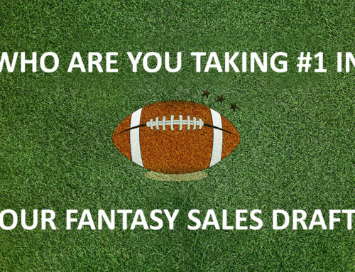 Who Are You Taking #1 In Your Fantasy Sales Draft?!