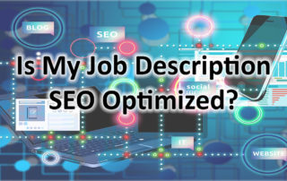 Keep Your Job Description SEO Optimized